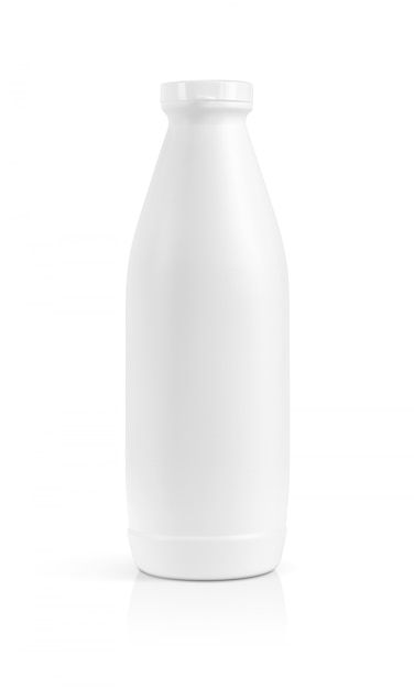 Blank packaging beverage plastic bottle isolated Premium Photo