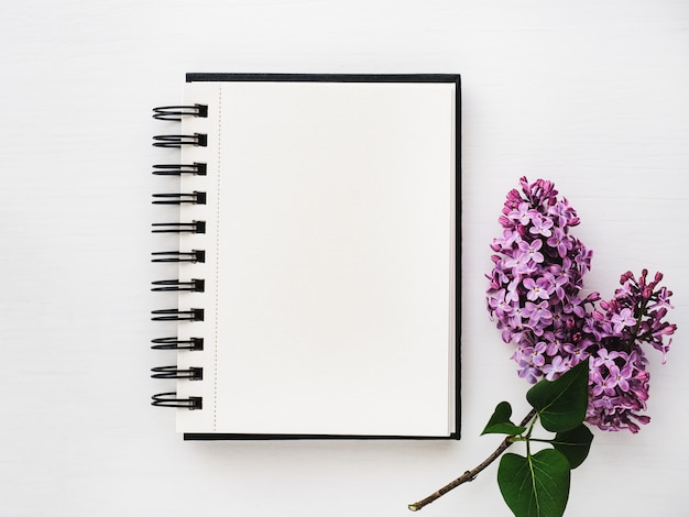 Blank page for your inscription Premium Photo