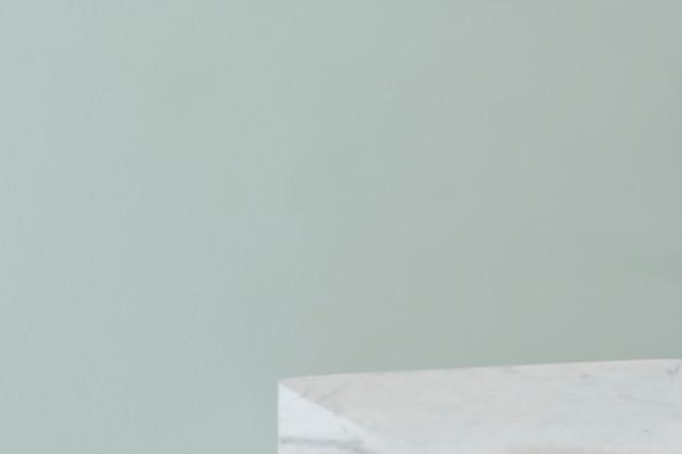 Пустая пастельная зеленая стена Бесплатные Фотографии
