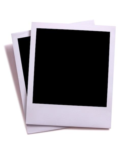 blank polaroid background - 625×754