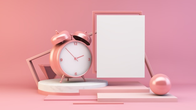Пустое время постера Premium Фотографии