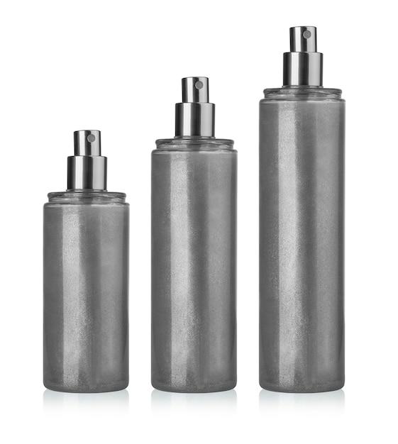 Blank spray can template for paint, hairspray, deodorant Premium Photo