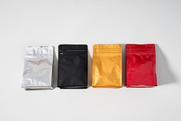 Blank standing pouch Premium Photo