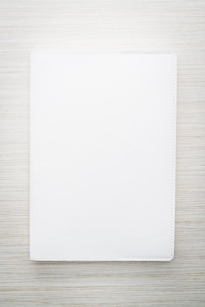 Blank white mock up book Free Photo