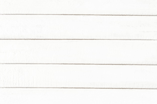 Blank white wooden textured background Free Photo