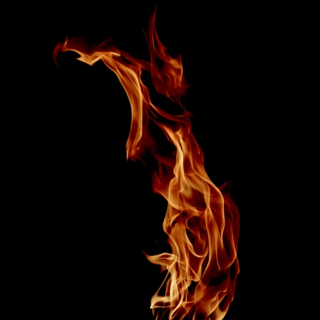 Пламя огня Premium Фотографии