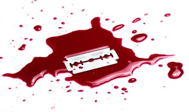 Blood splash Free Photo