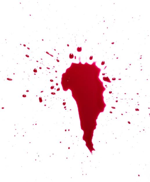 Schizzi di sangue Foto Gratuite