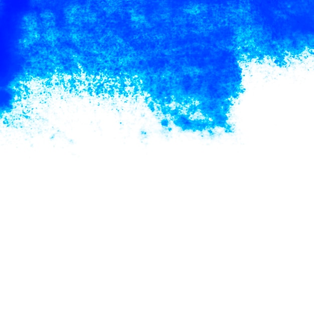 Blue abstract paint on paper Premium Photo