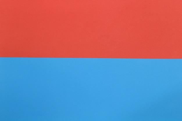青とオレンジ色の段ボールアートペーパー。 Premium写真