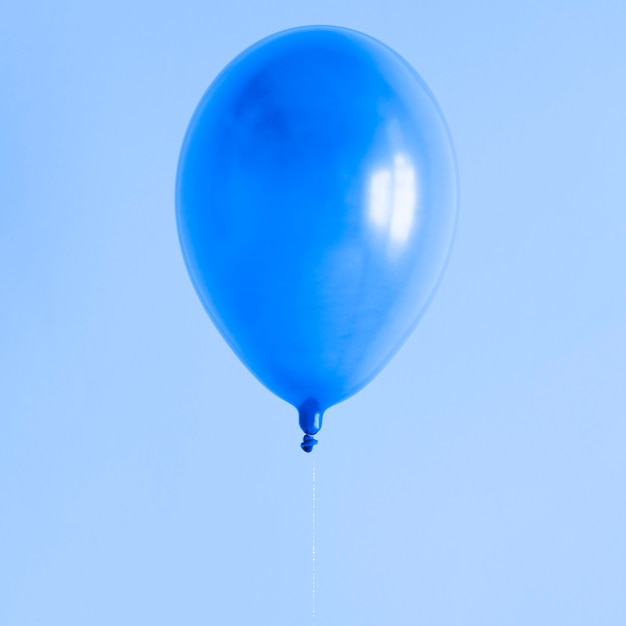 Blue balloon with copy space Free Photo
