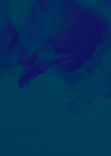 Blue brushed painted abstract background Free Photo