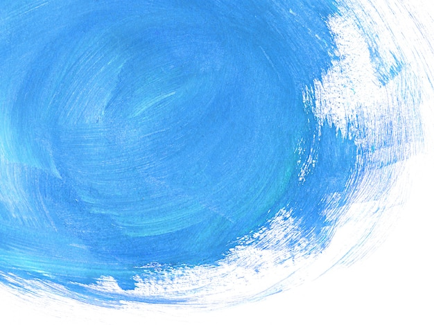 Blue brushstrokes abstract background Premium Photo