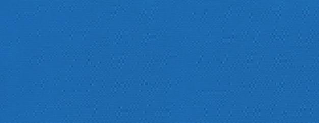 青いキャンバスのテクスチャの背景 Premium写真