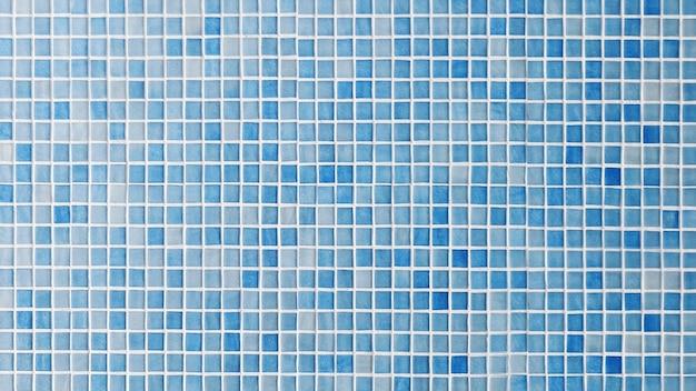 블루 세라믹 바닥 및 벽 타일 무료 사진
