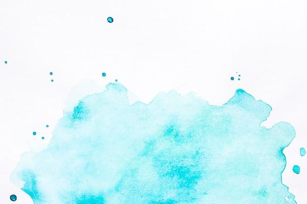 Голубое облако брызг фон Premium Фотографии