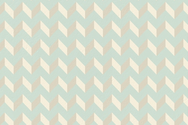 Blue And Cream Patterned Wallpaper Premium Photo