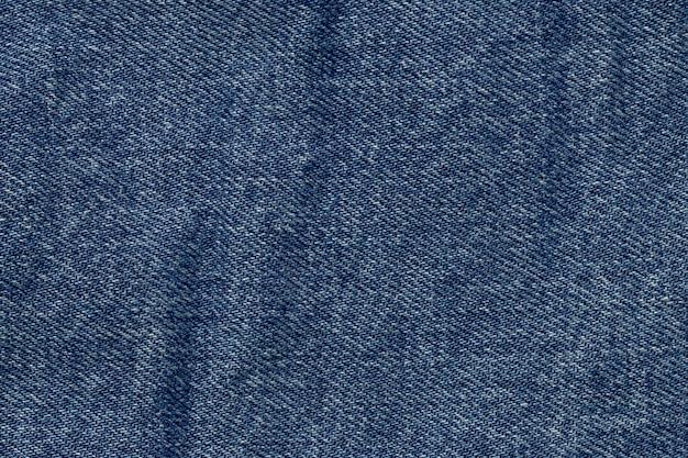 青いデニムのテクスチャ背景 無料写真