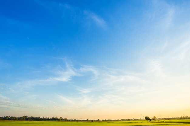 Premium Photo Blue Dramatic Sunset Sky Texture Background