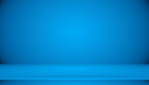 Blue gradient abstract background empty room with space Premium Photo