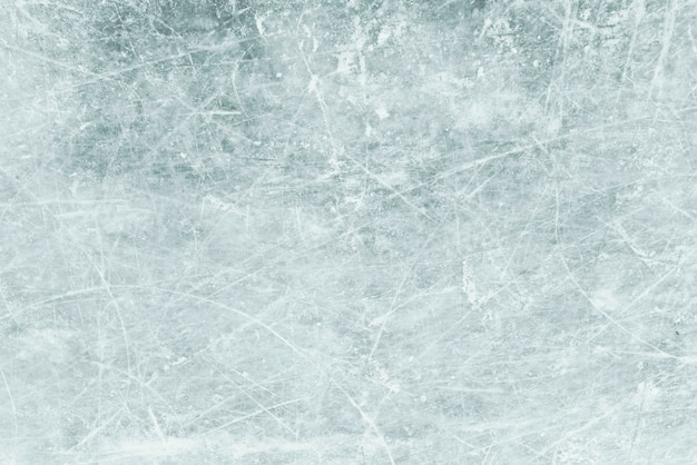 Blue ice as background, ice with snow texture Premium Photo