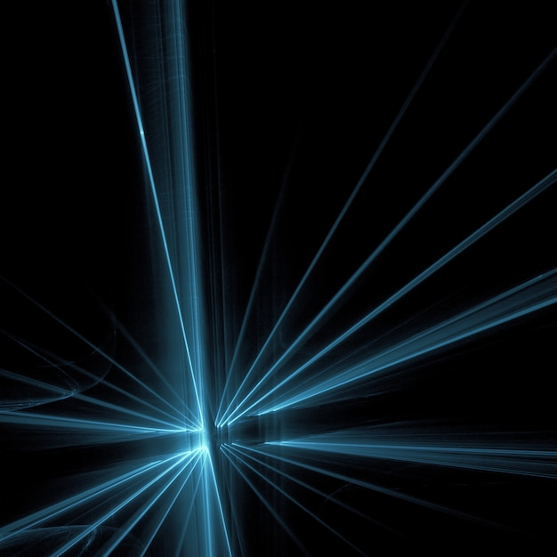 blue light on black background photo free download