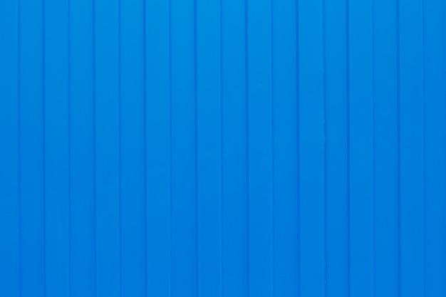 Blue metal corrugated sheet Premium Photo