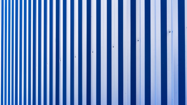 Blue metal sheet of industrial building and construction Premium Photo