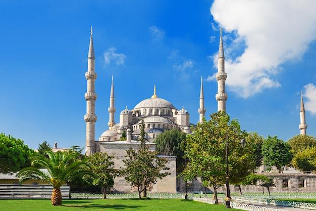 The blue mosque Premium Photo