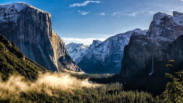 Blue mountain Premium Photo