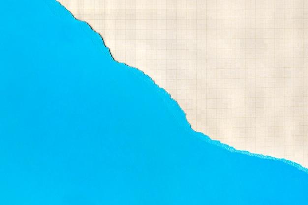 Фон формы голубой бумаги Бесплатные Фотографии