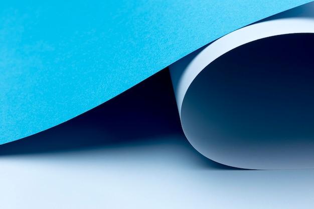 Синий фон листов бумаги Бесплатные Фотографии