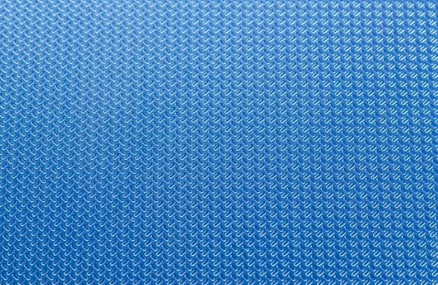 Blue ribbed technological background. Premium Photo