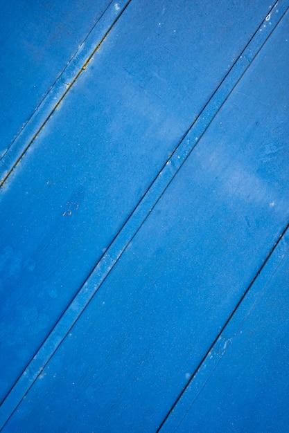 Priorità bassa o struttura arrugginita blu del metallo del grunge con i graffi e le crepe Foto Gratuite