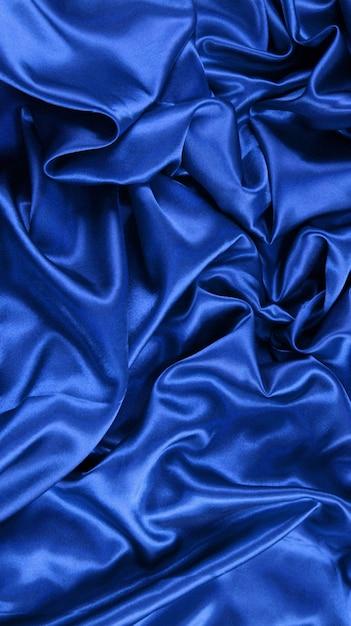 Blue satin clothing Free Photo