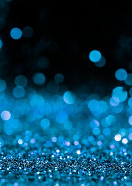 Scintillio blu scintillante Foto Gratuite