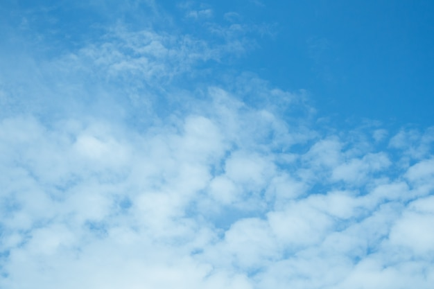 Blue sky background Premium Photo