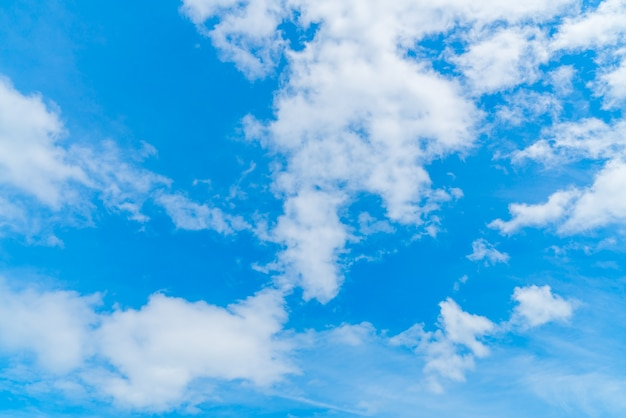 Blue sky with clouds Free Photo