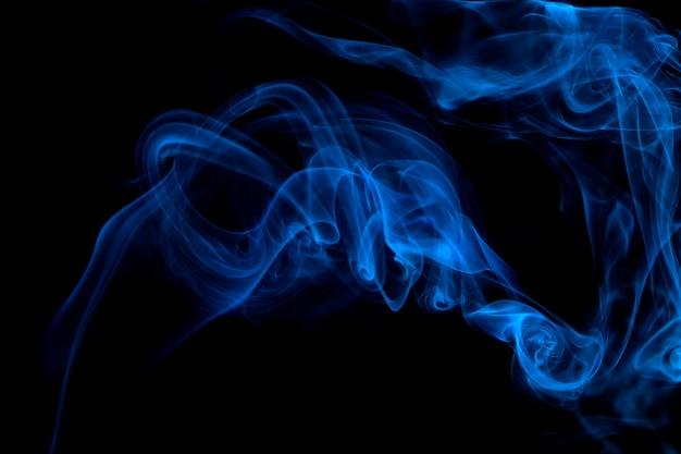 Blue smoke background Photo   Premium Download