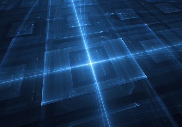 Blue Technology: Blue Technology Background Photo