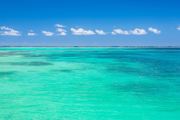 Blue tropical sea Premium Photo