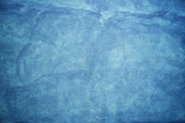 Blue wall cements & textures Premium Photo
