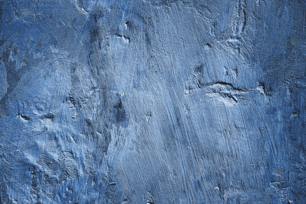 Blue wall texture as surface Premium Photo
