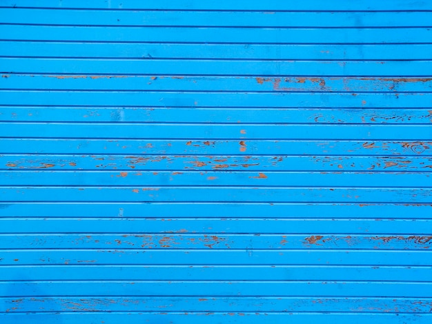 Blue wall with stripes Free Photo