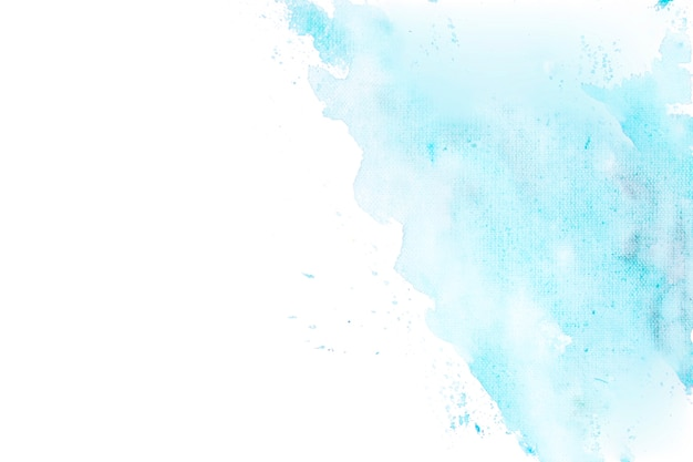 Blue watercolor degraded in a corner background Free Photo
