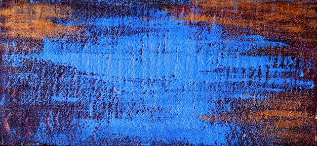 青い風化した表面 Premium写真