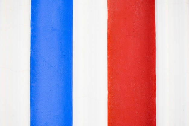 Blue, white and red painting background texture Premium Photo
