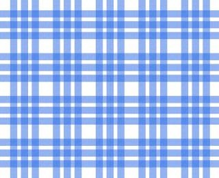 Blue and white tablecloth pattern Free Photo