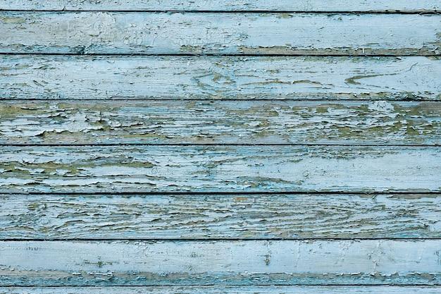 Blue wood texture background Premium Photo