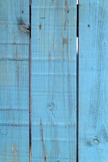 Blu staccionata in legno texture di sfondo Foto Gratuite